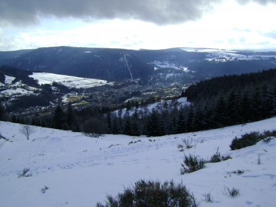 Tout en bas: La Bourboule(850m)