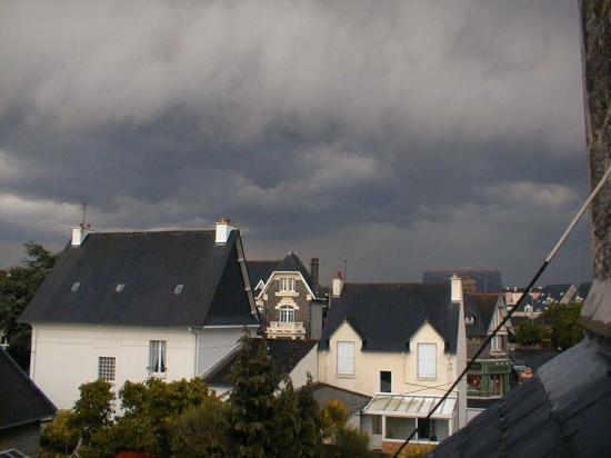 orage à Saint Brieuc